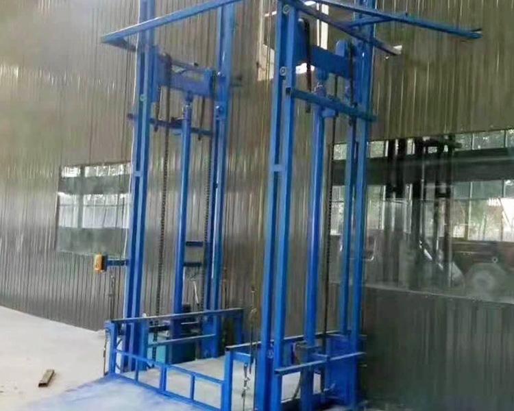 导轨式液压升降货梯